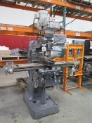 Clark Vertical Mill w/ Contour SDS2MS Programmable DRO, 3Hp Motor, 60-4200 Dial Change RPM, R8 Spind