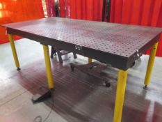 """StrongHand Tools Build Pro 48"""" x 96"""" Forming Table s/n TM161053 (SOLD AS-IS - NO WARRANTY)"""