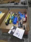 Radius Cutters, Countersinks, Reamers and Endmills (SOLD AS-IS - NO WARRANTY)