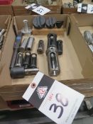 Fly Cutters and Bushings (SOLD AS-IS - NO WARRANTY)