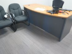 Motorized Elevating Desk, Desks and Chairs (SOLD AS-IS - NO WARRANTY)