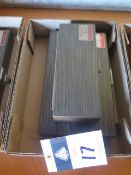 Starrett gage Block Sets (NOT COMPLETE) (SOLD AS-IS - NO WARRANTY)