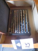 Fowler Carbide Gage Block Set (SOLD AS-IS - NO WARRANTY)
