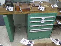 Lista 5-Drawer Maple-Top Work Bench (SOLD AS-IS - NO WARRANTY)