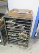 Deltronic Gage Pin Sets w/ Cabinet (SOLD AS-IS - NO WARRANTY)
