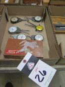 Intertest and NSK Dial Caliper Gages (7) (SOLD AS-IS - NO WARRANTY)