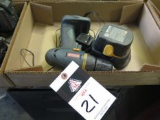 Ryobi 9.6Volt Cordless Drill w/ Charger (SOLD AS-IS - NO WARRANTY)