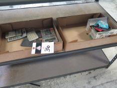 Water Pump and Calculators (SOLD AS-IS - NO WARRANTY)