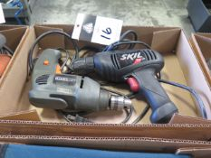 Electric Drills (2) (SOLD AS-IS - NO WARRANTY)