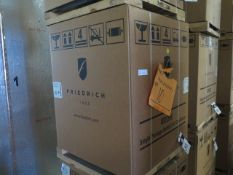 Friedrich VHA12K25RTN Hotel Style 1 Ton Single Package Vertical Air Conditioner s/n AFKN01933 w/ 9,