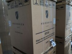 Friedrich VHA12K25RTN Hotel Style 1 Ton Single Package Vertical Air Conditioner s/n AFKN01926 w/ 9,