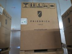 Friedrich VHA12K25RTN Hotel Style 1 Ton Single Package Vertical Air Conditioner s/n AFKN01917 w/ 9,