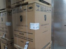 Friedrich VHA12K25RTN Hotel Style 1 Ton Single Package Vertical Air Conditioner s/n AFKN01924 w/ 9,