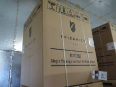 Friedrich VHA12K25RTN Hotel Style 1 Ton Single Package Vertical Air Conditioner s/n AFKN01878 w/ 9,