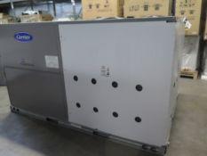 Carrier TCQD08A2A6-0A0G0 7.5 Ton Heat Pump s/n 0920P38107 460V-3PH. (SOLD AS-IS - NO WARRANTY)