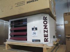 Reznor UDAP-60 60,000 BTU Natural Gas Fired Industrial Heater s/n BOF3062001104 115V. (SOLD AS-
