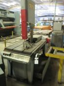 Marvel series 8 mdl. 8-MARK-1 Vertical Miter Band Saw s/n 821017 w/ Controls, Conveyors, SOLD AS IS