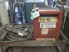 Nelson Stud Welding System w/ TR-1800A Welding Power Source, NS-20A HD Control Unit, Gun, SOLD AS IS