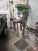 Central Machinery 16-Speed Pedestal Drill Press (SOLD AS-IS - NO WARRANTY)