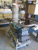 Miller Maxstar 200 Arc Welding Power Source w/ Tank, Cart (SOLD AS-IS - NO WARRANTY)