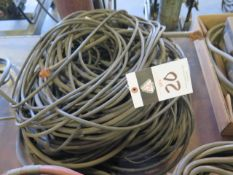 Misc Welding Cables and Hoses (SOLD AS-IS - NO WARRANTY)