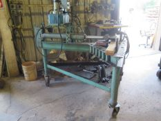 Custom Hydraulic Bending Press / Hydraulic H-Frame Press Combo, SOLD AS IS