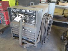 Lincoln Idealarc TIG-300/300 Variable Voltage AC/DC Arc Welding Power Source w/ Cart (SOLD AS-IS -