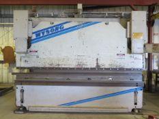 Wysong MHT250-144 250 Ton x 12' CNC Hydr Press Brake s/n MT19-122 w/ Autogauge CNC99, SOLD AS IS