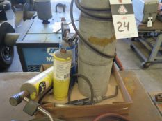 Mapp Gas Torch and Tanks (SOLD AS-IS - NO WARRANTY)