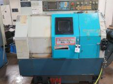 2001 Akira Seiki SL-15 CNC Turning Center s/n 01TC132-126 w/ Fanuc Series 0-T Controls, SOLD AS IS