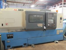 1998 Mazak Super Quick Turn 28MS Twin Spindle Live Turret CNC Lathe s/n 384135494, SOLD AS IS