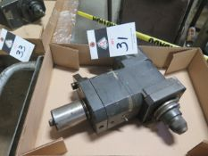 Mazak 90 Degree 40-Taper Live Tooling (SOLD AS-IS - NO WARRANTY)