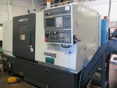2017 Takisawa NEX-110 CNC Turning Center s/n CQ12N10961 w/Takisawa Turn-i Fanuc Controls, SOLD AS IS