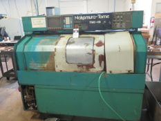 Nakamura Tome TMC-15 Live Turret CNC Turning Center s/n 07101 w/ Fanuc Controls, SOLD AS IS