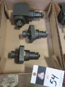 Nakamura Tome Radial and Axial Live Tooling (3) (SOLD AS-IS - NO WARRANTY)
