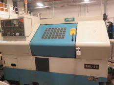 1999 Yang SML-30 CNC Turning Center s/n C20050 w/ Fanuc 0i-TD Controls, 8-Station Turret, SOLD AS IS