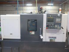 2017 Takisawa LA-250 CNC Turning Center s/n CR07AP0287 w/ Takisawa Turn-i Fanuc Controls, SOLD AS IS