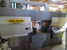 """2007 Hyd-Mech H-22A 18"""" Automatic Hydraulic Horizontal Band Saw s/n C0907234, SOLD AS IS"""