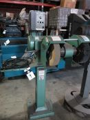 Burr King mdl. 1000 Deburring and Polishing Machine w/ Genesis Variable Speed Controls, SOLD AS IS