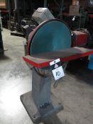 """Crescent 18"""" Pedestal Disc Sander / 10"""" Grinder Combo (SOLD AS-IS - NO WARRANTY)"""