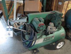 Speedaire Portable Air Compressor (SOLD AS-IS - NO WARRANTY)