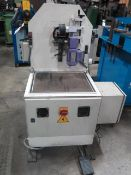 """2006 SNS ML100 Tube Finishing and Polishing Machine s/n 234 w/ 4 ½"""" Cap, Power Infeed, SOLD AS IS"""