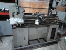 """Import TD-5AA 12"""" x 36"""" Lathe s/n 1107 w/ 6-Speeds, Inch Threading, Tailstock, 5C Collet Closer ("""