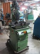 """Doringer D350 14"""" Pneumatic Feed Miter Cold Saw s/n 22396 w/ 2-Speeds, Speed Clamping, SOLD AS IS"""