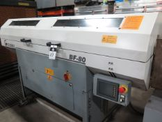 Goodway BF-80 Automatic Bar Loader/Feeder w/ PLC Controls (SOLD AS-IS - NO WARRANTY)