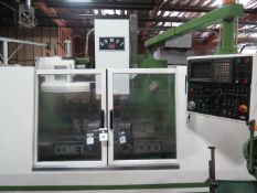 Mighty Comet VMC-1000 CNC Vertical Machining Center s/n 940706 w/ Mitsubishi Controls, SOLD AS IS