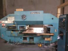 Amada PEGA-344 30 Ton 56-Station CNC Turret Punch s/n P3440018 w/ Fanuc 3000-C Controls, SOLD AS IS