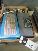 Tap and Die Sets (SOLD AS-IS - NO WARRANTY)