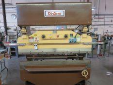 DiAcro 14-72 14GA x 6' Hydra-Power Press Brake s/n 6600183782 w/ Dial Back Gauge, , SOLD AS IS