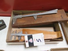 """6"""" to 12"""" Vernier Calipers (6) (SOLD AS-IS - NO WARRANTY)"""